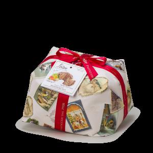 Mandorlato - Panettone ricoperto e decorato con mandorle