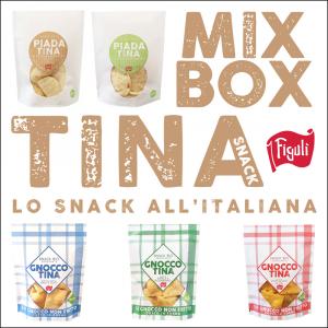 MIX BOX - TINA SNACK BIO - 15pz