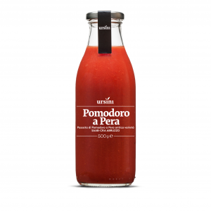 Passata di pomodoro a pera varieta' saab-cra