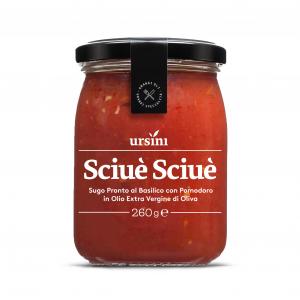 Sciuè Sciuè - Sugo pronto al basilico 260 gr
