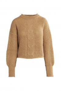 Morbida maglia da donna in mohair - Cammello