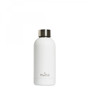 PURO Bottiglia Termica Hot&Cold Bianca da 350ml