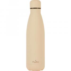 PURO Bottiglia Termica ICON Beige da 500ml