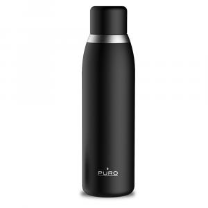 PURO Bottiglia Termica Smart Nera da 500ml