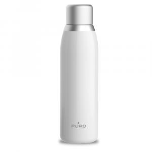 PURO Bottiglia Termica Smart Bianca da 500ml