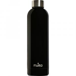 PURO Bottiglia Termica Hot&Cold Nera da 750ml