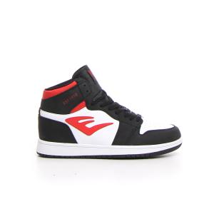 EVERLAST Sneaker alta - bianco nero rosso