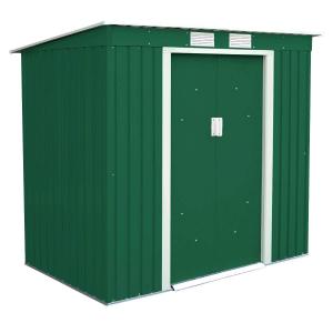 Box deposito Top metallo da giardino 201x121x176 cm