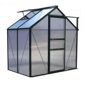 Aster Serra a casetta alluminio policarbonato 190x132xh201 cm