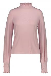 Cerceis - Blusa con punto smock rosa