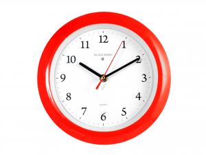 Orologio Parete Tondo Rosso Cm23 880