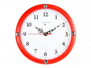 Orologio Parete Tondo Rosso 23,5 885