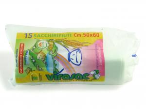 Rotolo 15 Sacchi Biodegr 50x60 132191